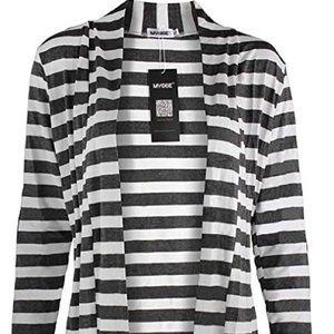 Sweaters - Long Sleeve Lightweight Cardigan